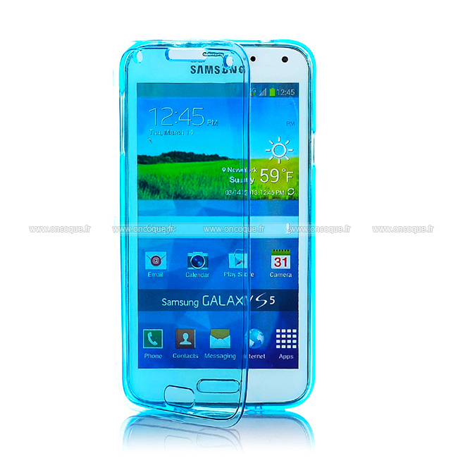 Coque samsung galaxy s5 mini g800f flip silicone gel for Housse samsung s5