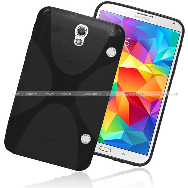 Coque samsung galaxy tab s 8 4 t700 x style silicone gel for Housse galaxy tab e