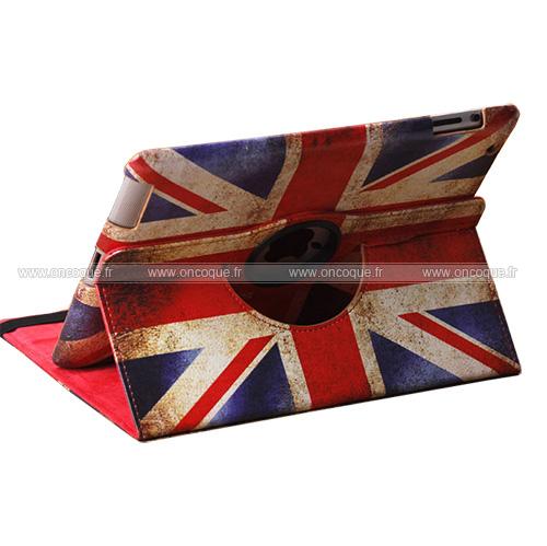 etui en cuir apple ipad 2 le drapeau du royaume uni mixtes. Black Bedroom Furniture Sets. Home Design Ideas