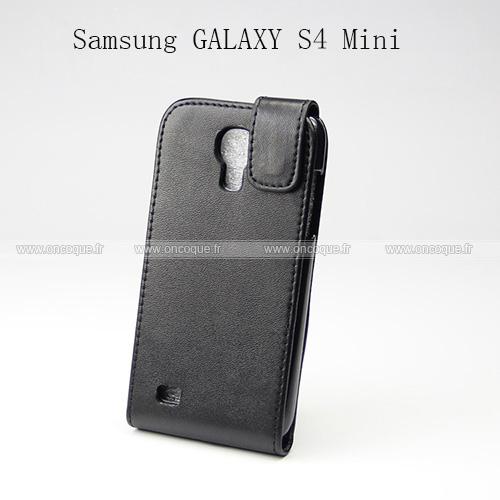 etui en cuir samsung galaxy s4 mini i9190 housse