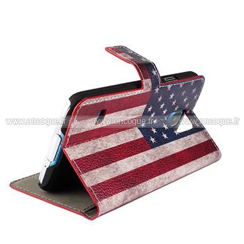 etui en cuir samsung galaxy s5 i9600 le drapeau des etats unis mixtes. Black Bedroom Furniture Sets. Home Design Ideas