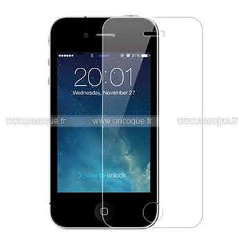Film protecteur d 39 ecran apple iphone 4 claire for Film protecteur effet miroir