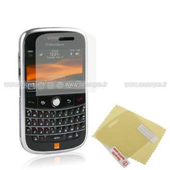 Film protecteur d 39 ecran blackberry bold 9000 claire for Photo ecran blackberry