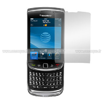 Film protecteur d 39 ecran blackberry torch 9800 claire for Photo ecran blackberry