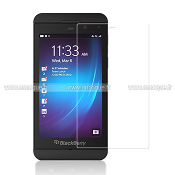 Film protecteur d 39 ecran blackberry z10 claire for Photo ecran blackberry