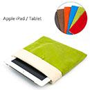 Coque Apple iPad Air Housse Pochette Tissu - Verte