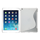Coque Apple iPad Air S-Line Silicone Gel Housse - Blanche