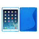 Coque Apple iPad Air S-Line Silicone Gel Housse - Bleu