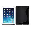 Coque Apple iPad Air S-Line Silicone Gel Housse - Noire