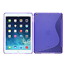 Coque Apple iPad Air S-Line Silicone Gel Housse - Pourpre