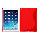 Coque Apple iPad Air S-Line Silicone Gel Housse - Rouge