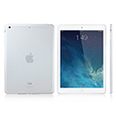 Coque Apple iPad Air Silicone Transparent Housse - Blanche