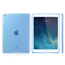 Coque Apple iPad Air Silicone Transparent Housse - Bleue Ciel