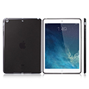 Coque Apple iPad Air Silicone Transparent Housse - Noire