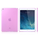 Coque Apple iPad Air Silicone Transparent Housse - Rose