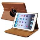 Coque Apple iPad Mini Etui en Cuir Housse Cover - Brown