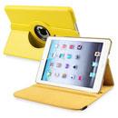 Coque Apple iPad Mini Etui en Cuir Housse Cover - Jaune
