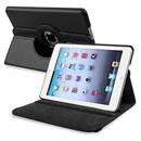 Coque Apple iPad Mini Etui en Cuir Housse Cover - Noire