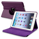 Coque Apple iPad Mini Etui en Cuir Housse Cover - Pourpre