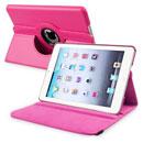 Coque Apple iPad Mini Etui en Cuir Housse Cover - Rose Chaud