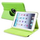 Coque Apple iPad Mini Etui en Cuir Housse Cover - Verte