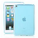 Coque Apple iPad Mini Silicone Transparent Housse - Bleue Ciel