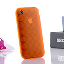 Coque Apple iPhone 3G Cercle Gel TPU Housse - Orange