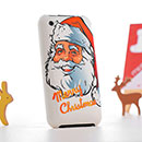 Coque Apple iPhone 3G Pere Noel Etui Rigide - Mixtes