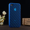 Coque Apple iPhone 4S Diamant TPU Gel Housse - Bleu