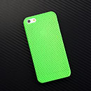 Coque Apple iPhone 5 Filet Plastique Etui Rigide - Verte