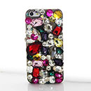 Coque Apple iPhone 5 Luxe Diamant Bling Etui Rigide - Mixtes