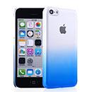 Coque Apple iPhone 5C Degrade Etui Rigide - Bleu