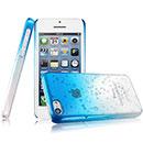 Coque Apple iPhone 5C Degrade Etui Rigide - Bleue Ciel