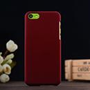 Coque Apple iPhone 5C Plastique Etui Rigide - Rouge