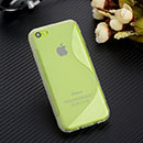 Coque Apple iPhone 5C S-Line Silicone Gel Housse - Clear