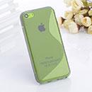 Coque Apple iPhone 5C S-Line Silicone Gel Housse - Gris