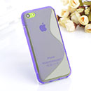 Coque Apple iPhone 5C S-Line Silicone Gel Housse - Pourpre