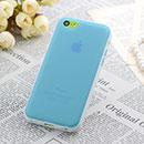 Coque Apple iPhone 5C TPU Silicone Gel Housse - Bleue Ciel