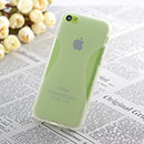Coque Apple iPhone 5C X-Style Silicone Gel Housse - Blanche