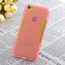Coque Apple iPhone 5C X-Style Silicone Gel Housse - Rose