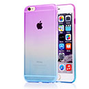 Coque Apple iPhone 6 Degrade Silicone Gel Housse - Pourpre