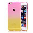 Coque Apple iPhone 6 Degrade Silicone Gel Housse - Rose