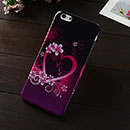 Coque Apple iPhone 6 Plus Amour Silicone Housse Gel - Pourpre