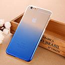 Coque Apple iPhone 6 Plus Degrade Etui Rigide - Bleu