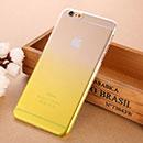 Coque Apple iPhone 6 Plus Degrade Etui Rigide - Jaune