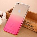 Coque Apple iPhone 6 Plus Degrade Etui Rigide - Rose Chaud