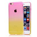 Coque Apple iPhone 6 Plus Degrade Silicone Gel Housse - Rose
