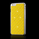 Coque Apple iPhone 6 Plus Diamant Bling Etui Rigide - Jaune