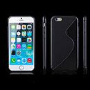 Coque Apple iPhone 6 Plus S-Line Silicone Gel Housse - Noire