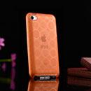 Coque Apple iPod Touch 4 Cercle Gel TPU Housse - Orange